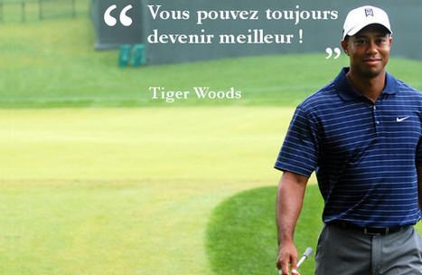 Vous pouvez toujours devenir meilleur ! Tiger Woods   Nouvelles du golf   Scoop.it
