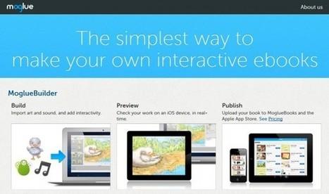 6 interesantes opciones para crear libros interactivos   PLE-PLN   Scoop.it