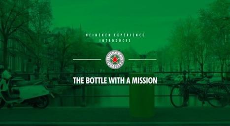 Heineken transforme sa bouteille en capteur GPS pour créer un jeu de piste | streetmarketing | Scoop.it