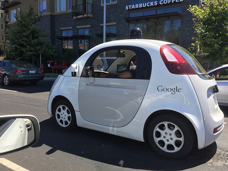 Many Spottings Of The Google Self Driving Car | internet marketing | Scoop.it