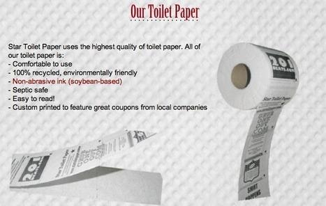De la publicité sur le papier toilette d'une bibliothèque new-yorkaise | LibraryLinks LiensBiblio | Scoop.it