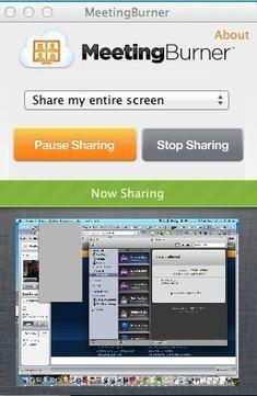 MeetingBurner une nouvelle solution de partage d'écran gratuite | creativité et plateformes de mutualisations | Scoop.it