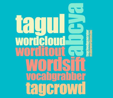 - More Than Wordle... Ten Other Word Cloud Generators ... Providing Unique Features - by Michael Gorman | MOOC4teachers | Scoop.it