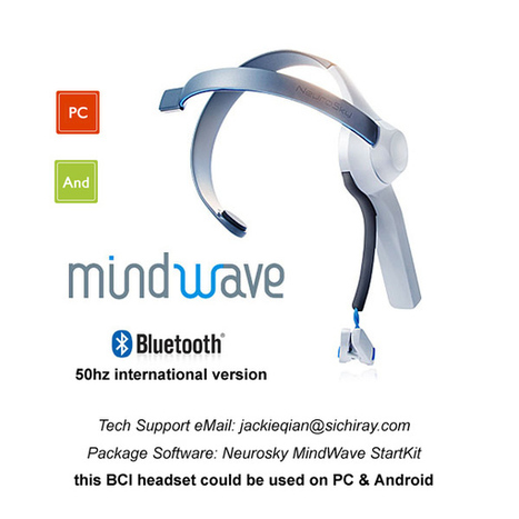 new eeg electric neurosky kit  Control software  with your  brainwave bluetooth interface headset mind control  neurofeedback-in Smart Home Sensor from Consumer Electronics on Aliexpress.com | Alib... | Smart HeadBand - The wearable Brain Computer Interface | Scoop.it