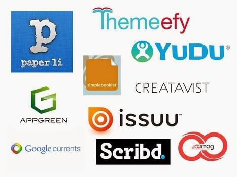 Las TIC y su utilización en la educación : Crea tu propia revista digital (newspaper) online fácil | Educacion, ecologia y TIC | Scoop.it