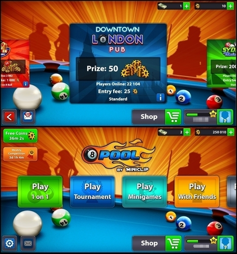 8 Ball Pool V3.7.0 iPhone iPad iPod Unlimited Coins | How to earn money online - Labshab | Scoop.it