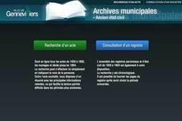 L'état civil de Gennevilliers est en ligne | Auprès de nos Racines - Généalogie | Scoop.it