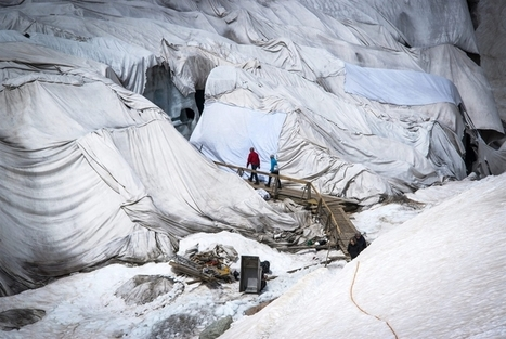 Glacier covered with blankets to reduce summer ice-melt | Chris' Regional Geography | Scoop.it