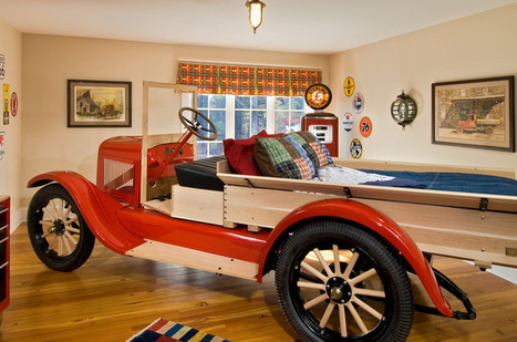 Cool Kids' Beds Sure to Top the Class | Designing Interiors | Scoop.it