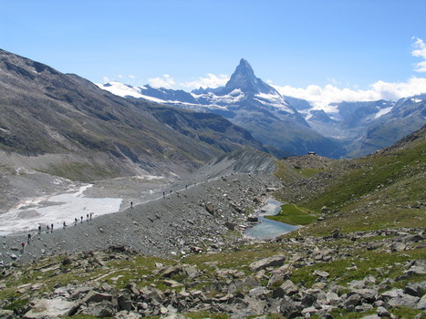 Moraines – piles of dirt record glacier fluctuations - Climatica | Cold Environments | Scoop.it