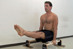 How To Do An L-Sit - GMB Fitness Skills | Exercising Effectively | Scoop.it