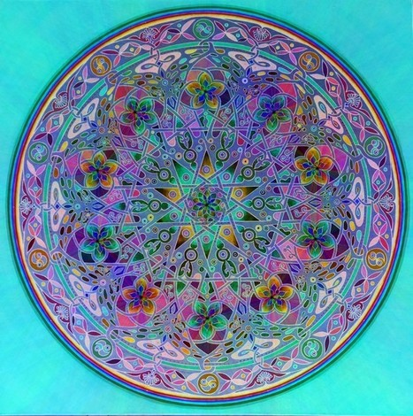 Sacred Geometry and #Mandala Arts | Limitless learning Universe | Scoop.it