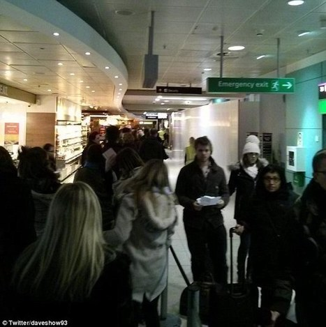 'Chaos' at Edinburgh Airport as security staff call in sick   Today's Edinburgh News   Scoop.it
