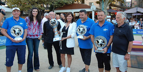 "Le 5e International de pétanque ""Pasquale Paoli"" de l'Ile-Rousse à la Dream Team Suchaud-Quintais-Lucien 