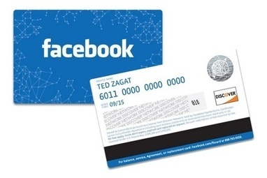 Facebook sort sa carte toute bleue   Banking The Future   Scoop.it