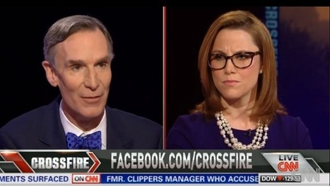 "Watch: Bill Nye debates climate change on ""Crossfire"" 
