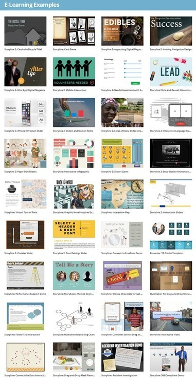 Over 800 E-learning Examples to Inspire Your Course Design | Teaching in the XXI Century | Scoop.it