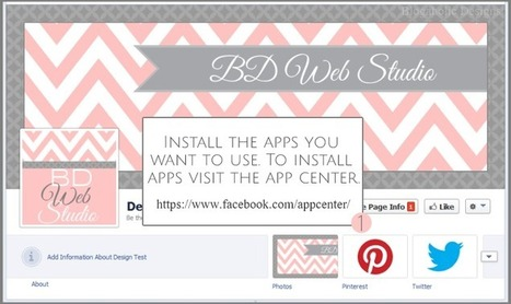 How To Add Custom Tabs To Your Facebook Page | Facebook Tabs | Scoop.it