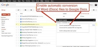 Free Technology for Teachers: How to Open and Edit Word Files in Google Drive | Higher Education and more... | Scoop.it