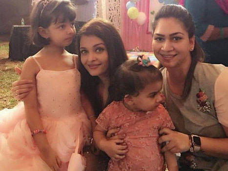 ADORABLE! You'll Love These Secrets That Aishwarya Rai Bachchan Revealed About Aaradhya Bachchan | Celebrity Entertainment News | Scoop.it