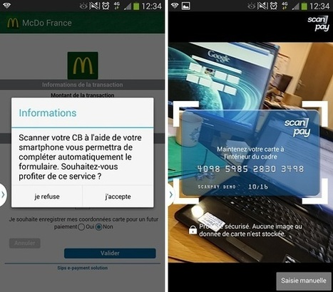ScanPay : l'addition scannée du menu McDonald's sur ton smartphone | Web & Techno | Scoop.it