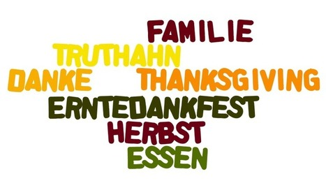 Giving Thanks in German — German Thanksgiving Vocabulary | German learning resources and ideas | Scoop.it