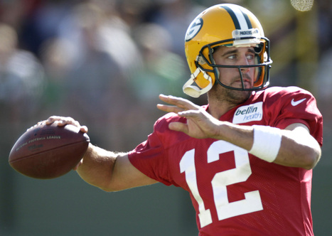Aaron Rodgers voted number six on top 100 NFL players for 2013; Adrian Peterson voted first - JSOnline | Football | Scoop.it