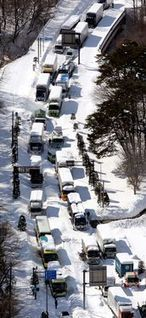 19 dead, towns stranded after snowstorm hits eastern Japan - AJW by The Asahi Shimbun | Sustain Our Earth | Scoop.it