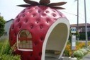 Giant Fruit-Shaped Bus Stops Line Streets in Japan | Urban Design | Scoop.it