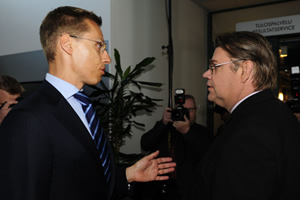 Finnish FM Stubb vexed by reporting on Soini | Finland | Scoop.it