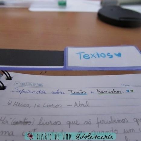 Caderno de Organização do Blog ~ Diário de Uma Adolescente   Só para Miúdas   Scoop.it
