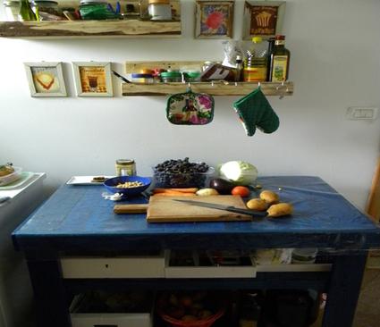 Pallet kitchen table | Recyclart | kitchen | Scoop.it