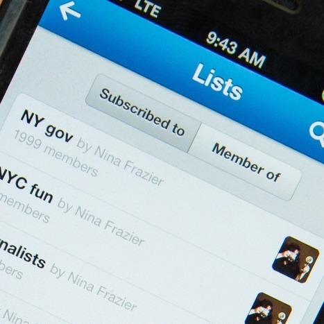 Twitter Now Supports More and Longer Lists   SocialMedia_me   Scoop.it
