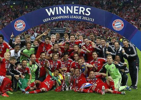 Bayern Munich campeón de la Champions league | fútbol Total | Scoop.it