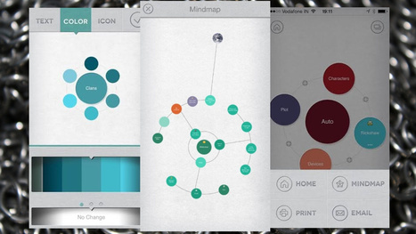 Mindly Makes Mind Mapping Simple and Beautiful on Small Screens | Art of Hosting | Scoop.it