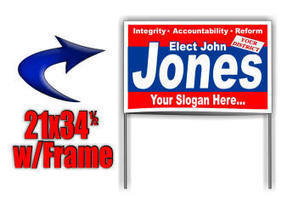 Political Poly Coated Yard Sign Prices & Information | political campaign signs for sale | Scoop.it