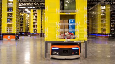 Amazon is just beginning to use robots in its warehouses and they're already making a huge difference | Planning, Budgeting & Forecasting | Scoop.it