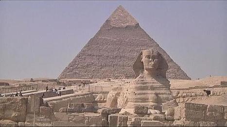 Djedi, le petit robot explore la Grande pyramide de Gizeh | Clic France | Scoop.it