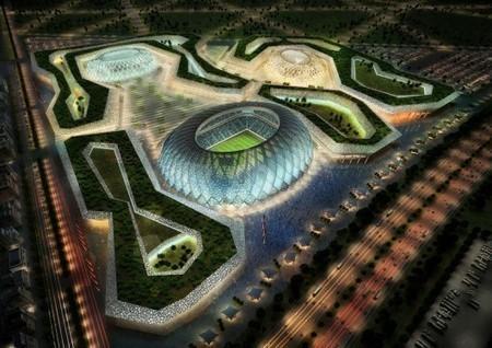 Zaha Hadid Architects diseña estadio sustentable para la Copa Mundial de Fútbol 2022 en Qatar | la arquitectura en los estadios | Scoop.it