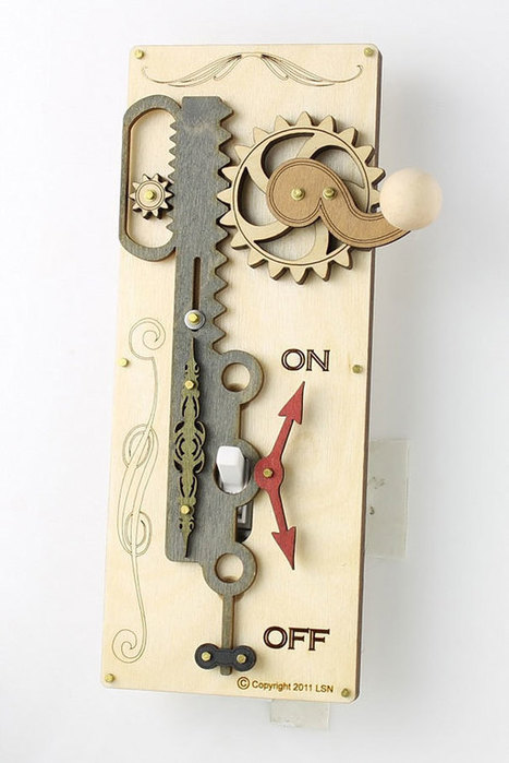 Overly Complicated Light Switch Covers By Green Tree Jewelry | Inspired By Design | Scoop.it