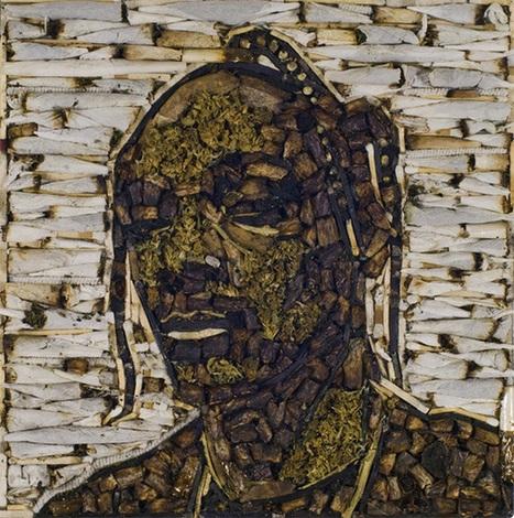 Retrato de Snoop Dogg hecho con marihuana | thc barcelona | Scoop.it