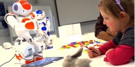 Un robot pour apprendre à écrire | L'e-école | Scoop.it