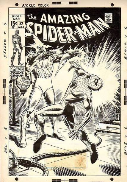 """Amazing Spider-Man #82 """"The Lost Cover?"""" 