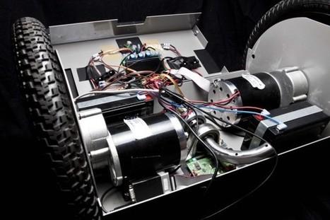RoseWheel, un clone de Segway télécommandable réalisé par des étudiants de Télécom ParisTech | Semageek | Innovation & Sérendipité | Scoop.it