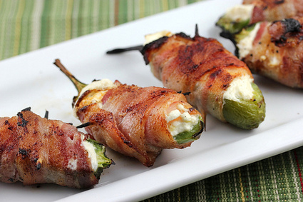 Bacon Wrapped Jalapenos Recip   hospitality   Scoop.it
