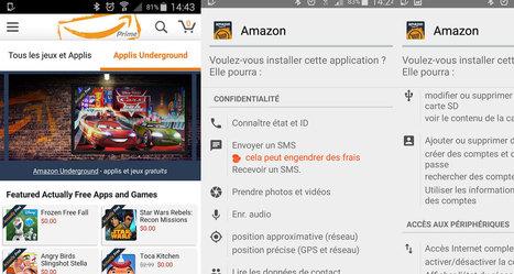 Amazon Underground pour Android échange-t-il gratuité contre vie privée ? | Libertés Numériques | Scoop.it