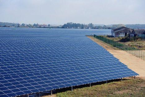Inauguration d'une vaste centrale solaire en Eure-et-Loir | The Blog's Revue by OlivierSC | Scoop.it
