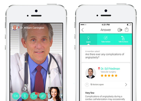 How The iPhone 6 Will Have Doctors, Trainers, And Nutritionists Making Virtual House Calls | Realms of Healthcare and Business | Scoop.it