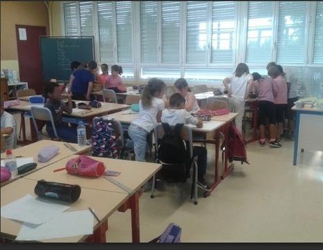 """La classe de CE2 de l'École élémentaire Saint-Exupéry à Langon donne un sens au verbe """"apprendre""""   Educnum   Scoop.it"""