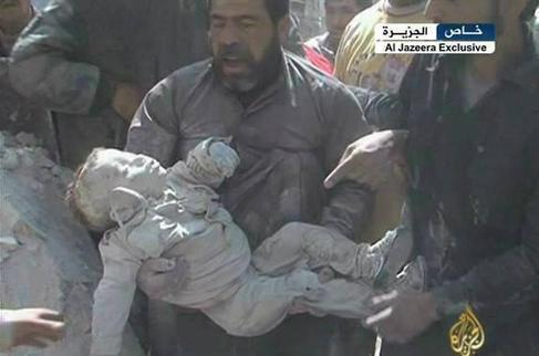 #Today: Photo #Syria Assad's crimes that the world doesn't regard as terrorism or crimes!